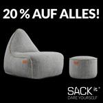 Spare 20% auf skandinavisches Design von SACKit