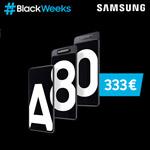 #Black Weeks bei Samsung: Hole dir jetzt das Galaxy A80 mit der Dreifach-Kamera zum Preis von 333 Euro