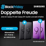 SAMSUNG #BlackFriday: Jetzt ein Galaxy S9 oder Galaxy S9+ kaufen und zwei erhalten