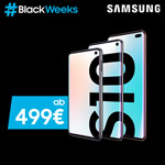 #Samsung Black Weeks: Sicher dir ausgewählte Galaxy S10 Modelle ab 499 EURO