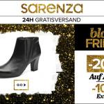 20% Rabatt auf alle Schuhe & Taschen bei Sarenza!