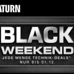 Über 52 attraktive Schnäppchenangebote beim Black Weekend im Online-Shop von Saturn!