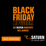Black Friday Week bei SATURN – Entdecke jetzt die besten Angebote des Jahres