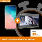 SATURN Tarifwelt Black Weekend Angebote: Z.B. das Galaxy S10e + Xbox One X für nur 21,99 € im Monat