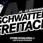 Schwatten Freitach bei den Knappen – Spare 50% auf 19 Artikel im Fanshop des FC Schalke 04