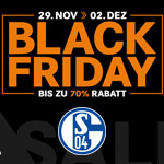 Bis zu 70% Rabatt auf Fanartikel, Teamwear und Trikots von FC Schalke 04