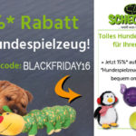 15%* Rabatt auf Hundespielzeug bei Schecker