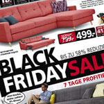 Erhalte mit den Black Friday Angeboten bei Seats & Sofas bis zu 58% Rabatt