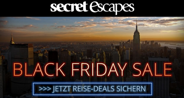 Secret Escapes Black Friday 2017