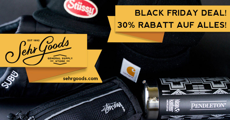 Sehr Goods Black Friday 2019
