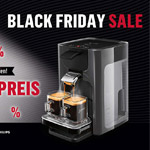 SENSEO® Quadrante Kaffeepadmaschine zum Sonderpreis als Black Friday Angebot