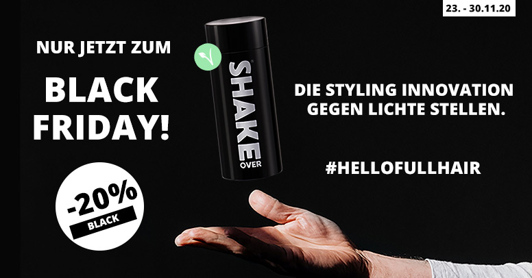 Shake Over Black Friday 2020