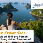 Buche jetzt deine Traumreise mit Shoestring und spare bis zu 150€ pro Person!