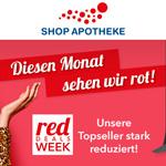 Red November Deals bei Shop-Apotheke.com – Viele Topseller bis zu 60% günstiger