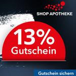 Black Friday bei SHOP APOTHEKE – Jetzt 13% Gutschein sichern und sparen