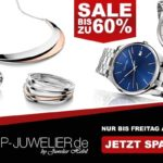 Spare bis zu 60% auf hochwertige Schmuck und Uhrenmarken bei Shop-Juwelier.de