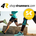 Sicher dir jetzt 5 EURO Rabatt auf alle ASICS Laufschuhe bei shop4runners