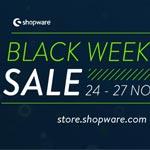 Black Weekend Sale bei Shopware – Sicher dir mind. 15% Rabatt auf zahlreiche Plugins und Themes!