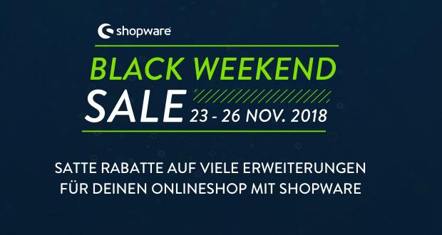 shopware Black Friday 2018