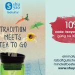 Zeit zum Entspannen. 10% Rabatt auf fast alle Tees im Online-Shop von shuyao teekultur!