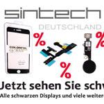 Nur heute – SCHWARZE iPhone Displays im Sonderangebot bei Sintech