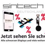 Alle schwarzen Displays und viele weitere Artikel im Onlineshop von Sintech stark reduziert.