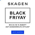 Bis zu 50% Rabatt* auf ausgewählte Bestseller im Onlineshop von Skagen!