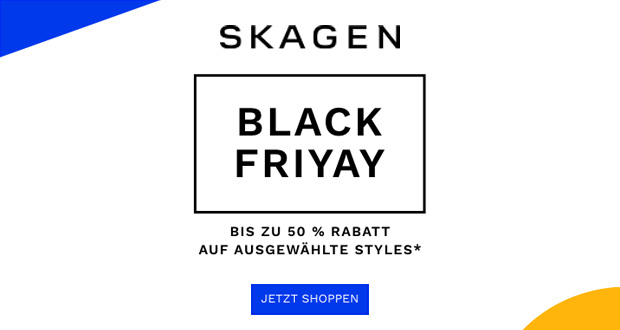 Skagen Black Friday 2018
