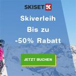 Skiset Skiverleih – Jetzt reservieren und bis zu 50% sparen!