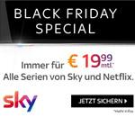 Das Nonplusultra für Serienfans. Alle Serien von Sky und Netflix in HD. Immer für € 19,99 mtl.