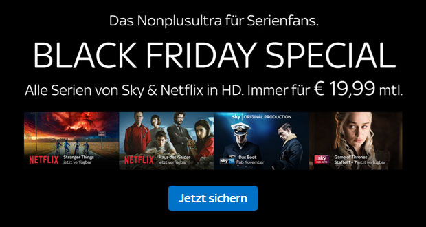 Sky Black Friday 2018