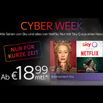 Sky Q – Entertainment Plus inkl. Netflix ab 18,99 EURO monatlich