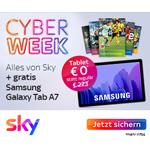 Sky Cyberweek-Angebot: Alles von Sky plus gratis Samsung Galaxy Tab A7