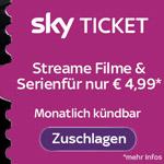 Sky Ticket Black Friday Special: Serien & Filme bis Ende Dezember für nur 4,99 Euro