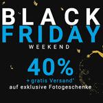 Black Friday Weekend bei smartphoto – Sicher dir jetzt 40% Rabatt auf exklusive Fotogeschenke
