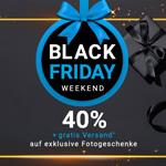 Black Friday Weekend bei smartphoto – Sicher dir Exklusive Fotogeschenke jetzt 40% günstiger.