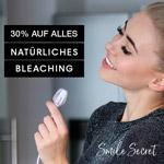 30% Rabatt auf alle Zahnbleaching-Produkte von Smile Secret