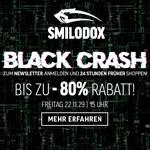 SMILODOX BLACK CRASH – Sicher dir jetzt 80% Rabatt auf alles!