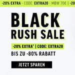 Black Rush Sale im Store von Smilodox – Spare bis zu 80% und sicher dir noch 20% Extra-Rabatt