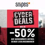 Spare jetzt bis zu 50% mit den Cyber Days bei SNIPES