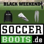 Black Weekend bei Soccerboots mit bis zu 50% Rabatt auf alles plus 12% Extra-Rabatt
