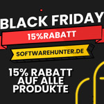 15% Black Friday Rabatt auf alle Produkte bei Softwarehunter