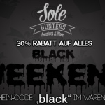 Black Weekend bei Sole Hunters: 30% auf alles!