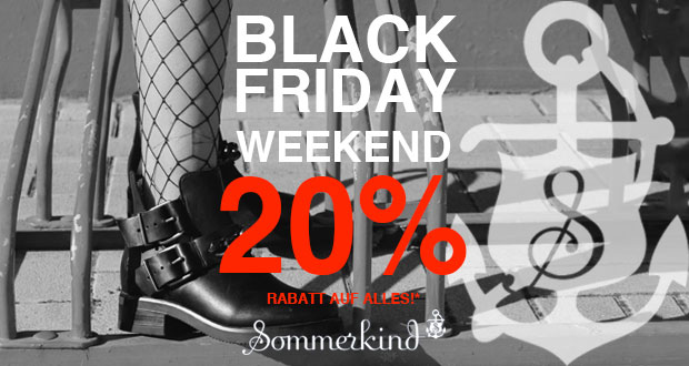 Sommerkind Black Friday 2018