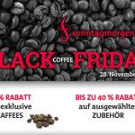 -50% auf exklusive Kaffees und bis zu -40% auf ausgewähltes Zubehör bei Sonntagmorgen.com!