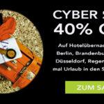 Großer Cyber Sale bei SORT Hotels – Sicher dir jetzt 40% Rabatt auf Hotelübernachtungen!