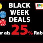 Black Week Deals bei Spiele Max, sicher dir jetzt mehr als 25% Rabatt auf Spielzeug-Artikel!