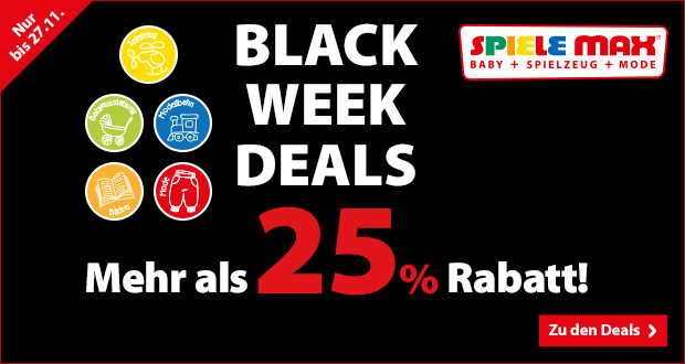 Spiele Max Black Week Deals 2017