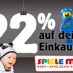 Große Black Friday Aktion bei SPIELE MAX: Spare 22% auf deinen Weihnachtseinkauf!