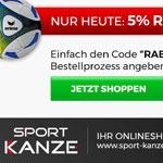 Nur heute 5% auf alles bei Sport Kanze!